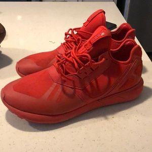 Adidas Originals Tubular all red